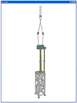 245kV Pantograph | WEGAI | Structural and Earthquake Engineering